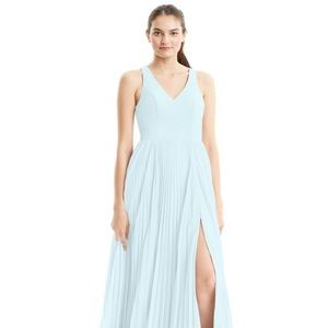 "Azazie ""Lindsey"" bridesmaids dress (mist, size A2)"